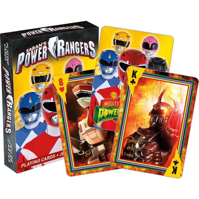 Power Rangers 25th Anniversary Playing Cards