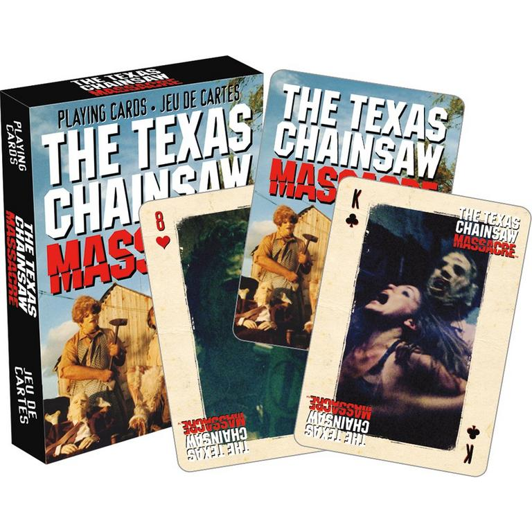 Texas Chainsaw Massacre Horror Playing Cards
