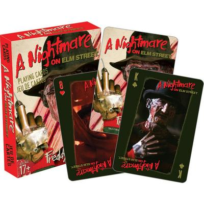 Nightmare on Elm Street Horror Playing Cards