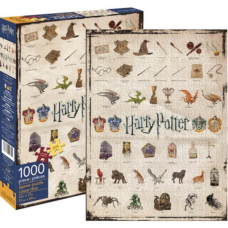 Harry Potter Icons Puzzle