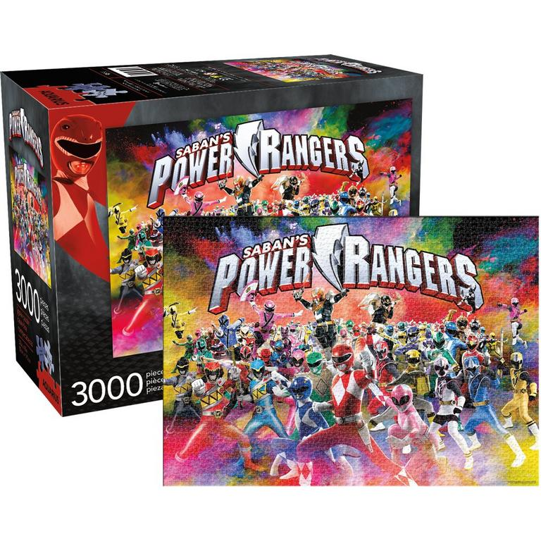 Power Rangers 25th Anniversary 3000pc Puzzle