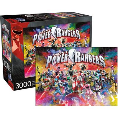 Power Rangers 25th Anniversary Puzzle