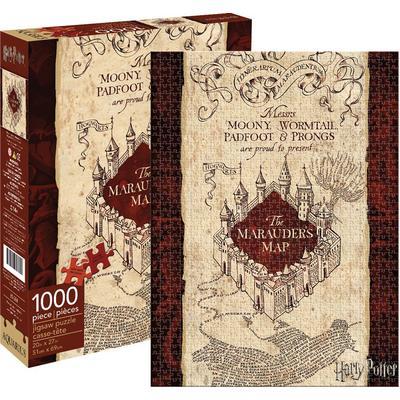 Harry Potter: Marauders Map 1000pc Puzzle