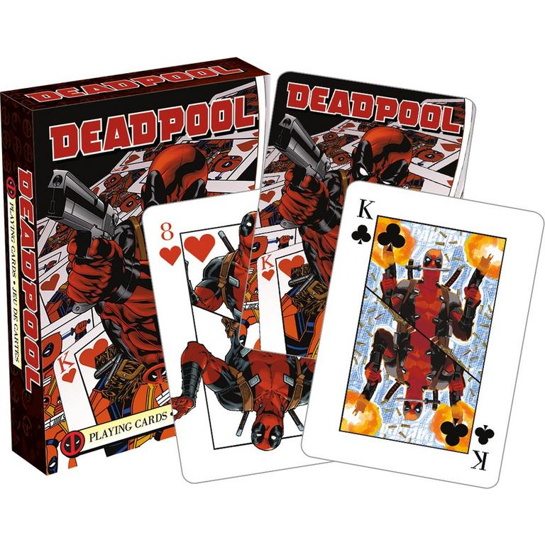 Marvel: Deadpool Comics 2018 Playing Cards