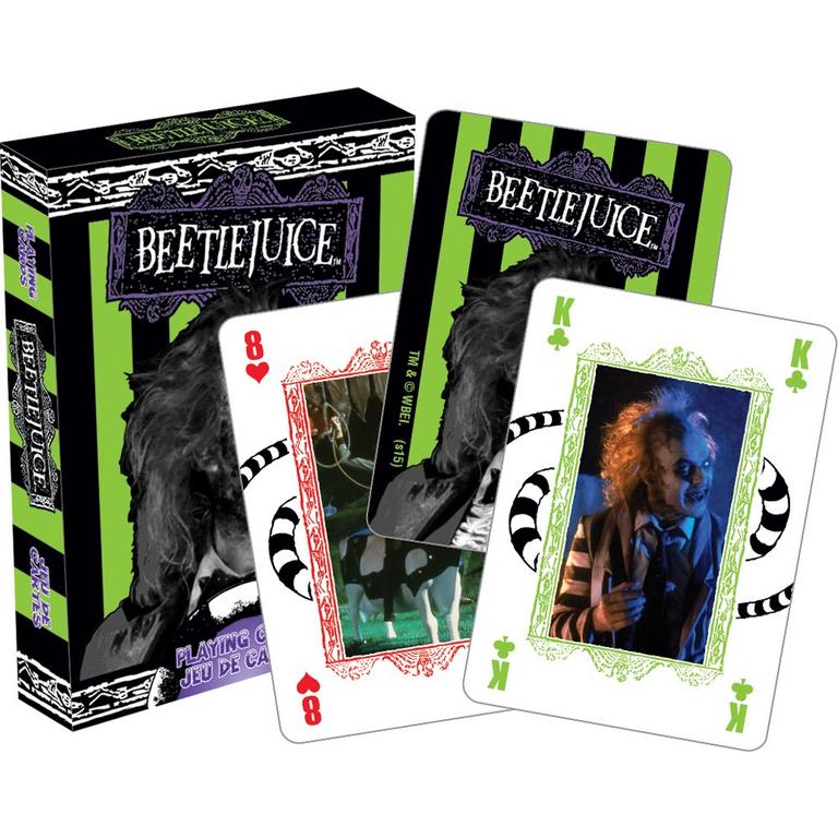 Beetlejuice Horror Playing Cards