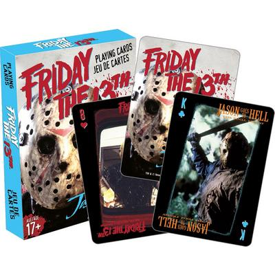 Friday the 13th Horror Playing Cards