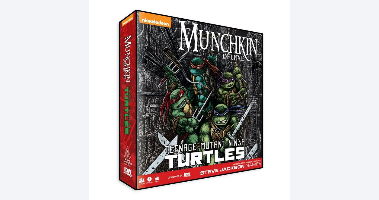 Munchkin: Teenage Mutant Ninja Turtles Deluxe Board Game - Only @ GameStop