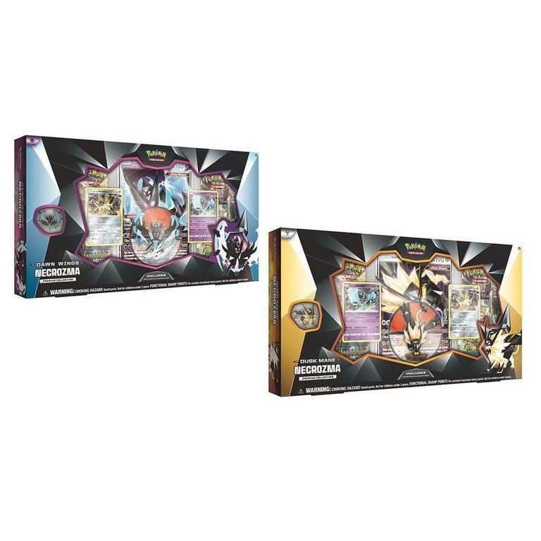 Pokemon Trading Card Game: Dusk Mane Necrozma or Dawn Wings Necrozma Premium Collection (Assortment)