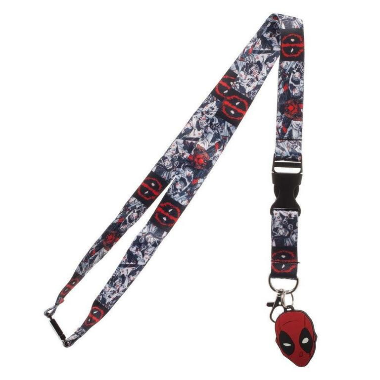 Deadpool Character Art Lanyard