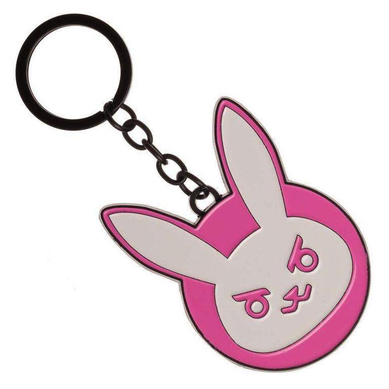 Overwatch D.Va Bunny Keychain