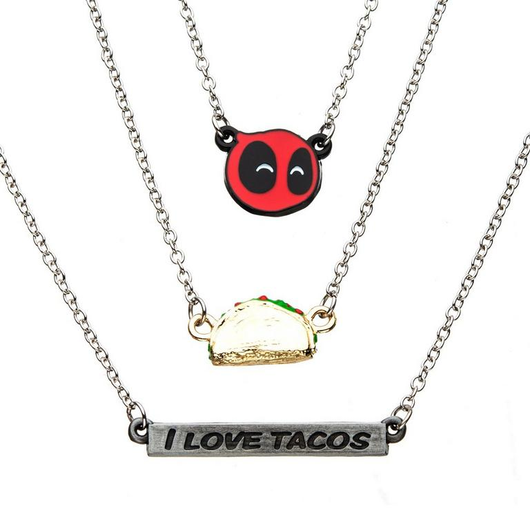 Deadpool Taco Necklace