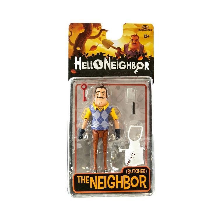 Hello Neighbor THe Neighbor Butcher Action Figure