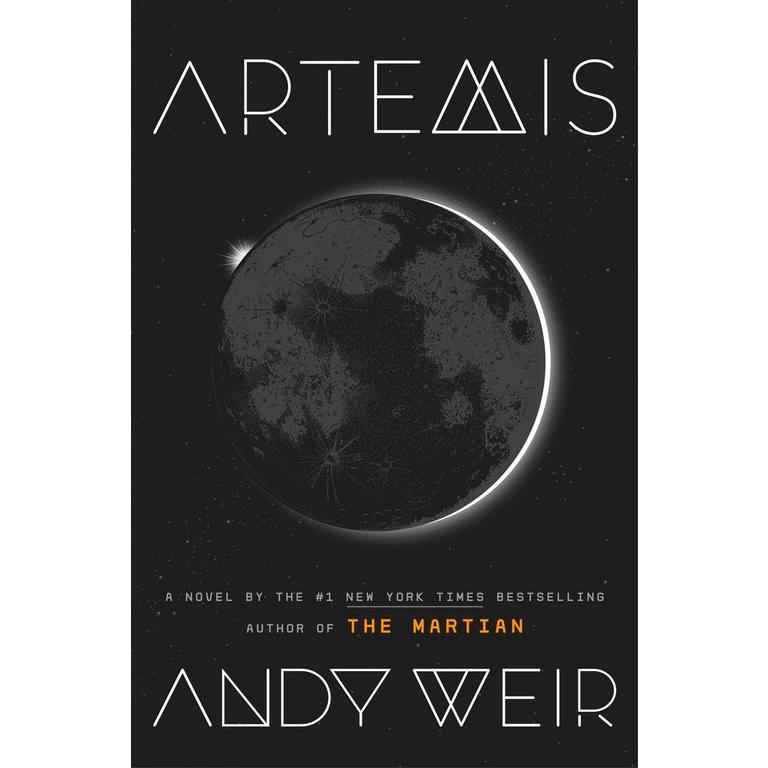 Artemis by Andy Weir Limited Autographed Edition