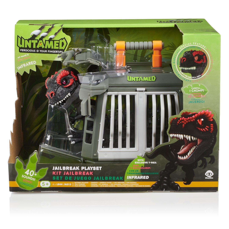 Fingerlings Untamed Jailbreak T Rex Playset Gamestop