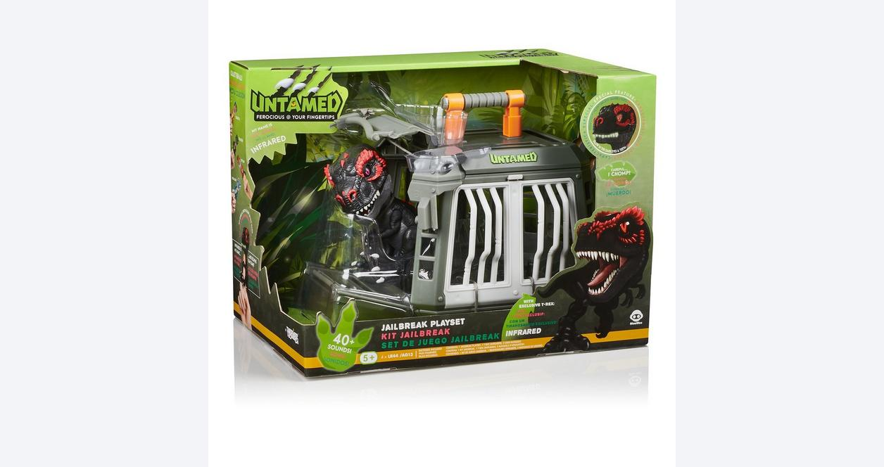 Fingerlings Untamed Jailbreak T-Rex Playset