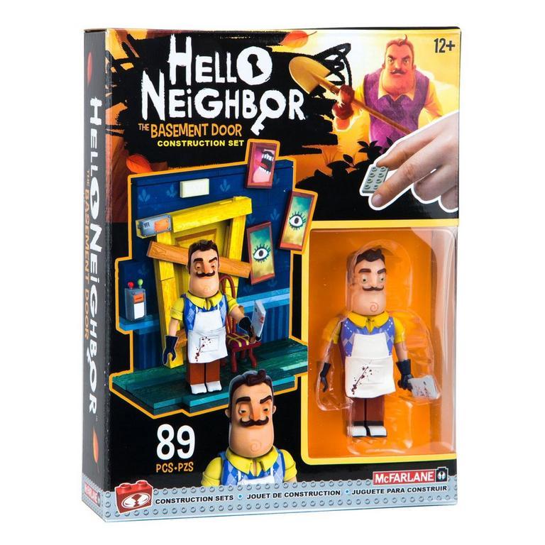 Hello Neighbor The Basement Door Construction Set