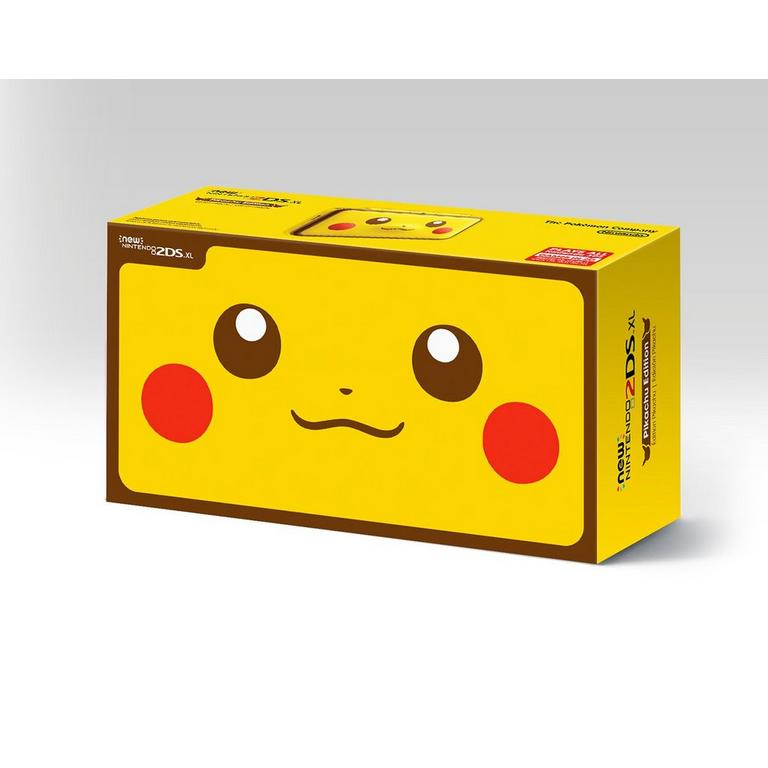 New Nintendo 2DS XL Pikachu Edition GameStop Refurbished