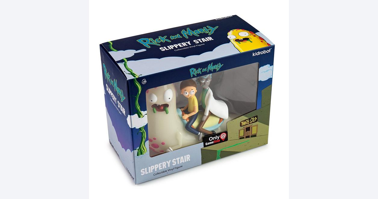 Rick and Morty: Slippery Stair Glow in the Dark Statue - Only at GameStop