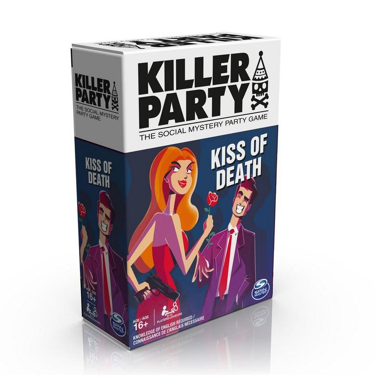 Killer Party Kiss of Death Card Game