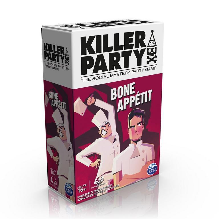 Killer Party Bone Appetit Card Game