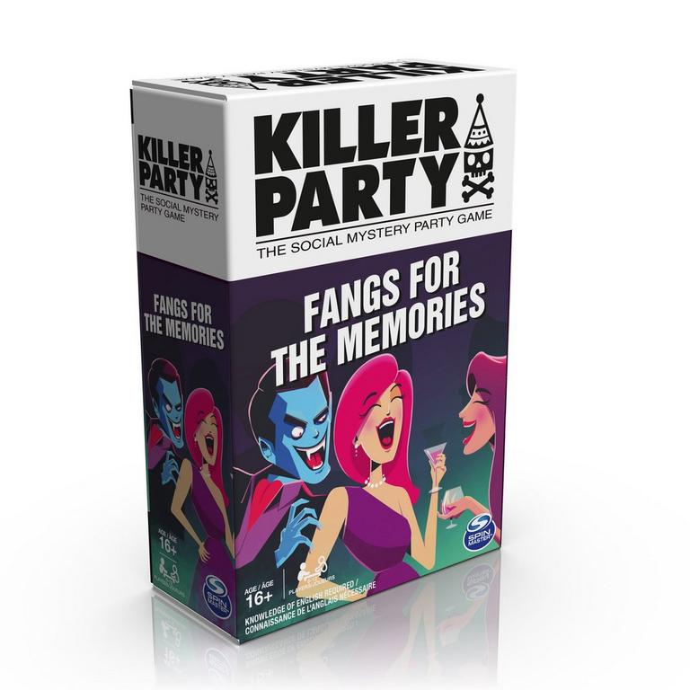 Killer Party Fangs for the Memories Card Game Only at Gamestop