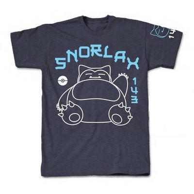Pokemon Snorlax Super Lazy T-Shirt