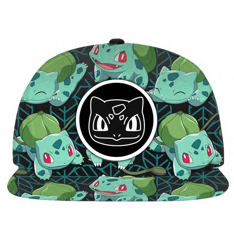 Pokemon Tropical Bulbasaur Snapback Baseball Cap