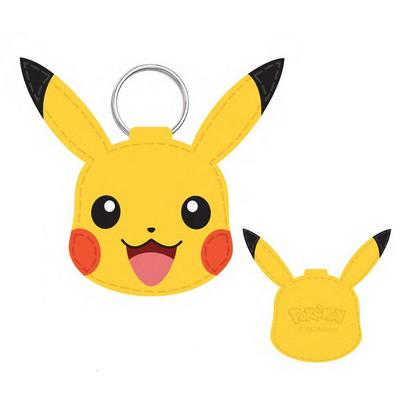 Pokemon Pikachu Faux Leather Keychain