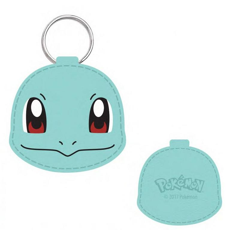 Pokemon Squirtle Faux Leather Keychain