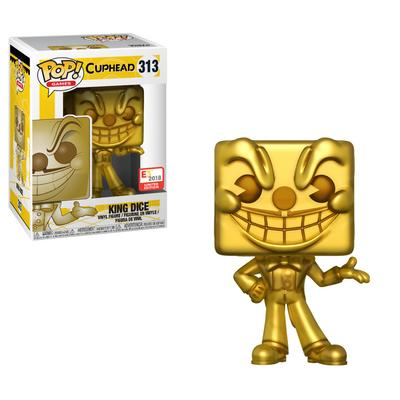 POP! Games: Cuphead - King Dice (Gold) - E3 2018 Limited Edition