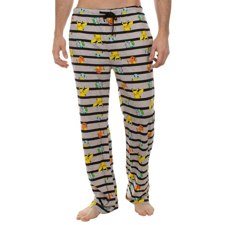 Pokemon Striped Starters Lounge Pants