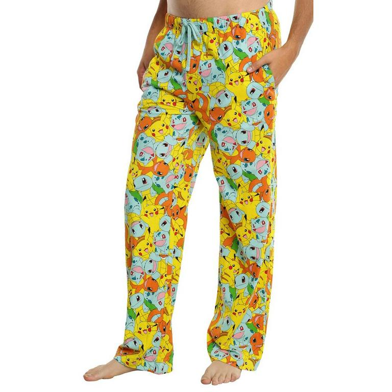 Pokemon Original Starters Loungepant - Large