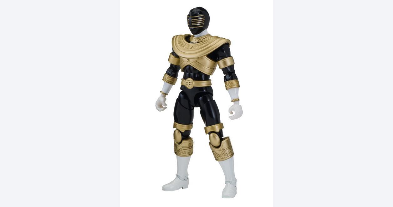 Power Rangers Legacy: Zeo 6.5 Inch Action Figure Black Ranger