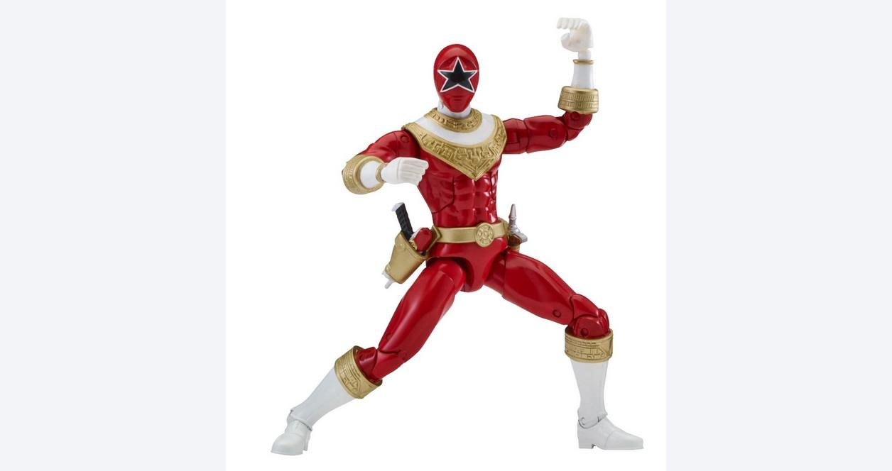 Power Rangers Legacy: Zeo 6.5 Inch Action Figure Red Ranger