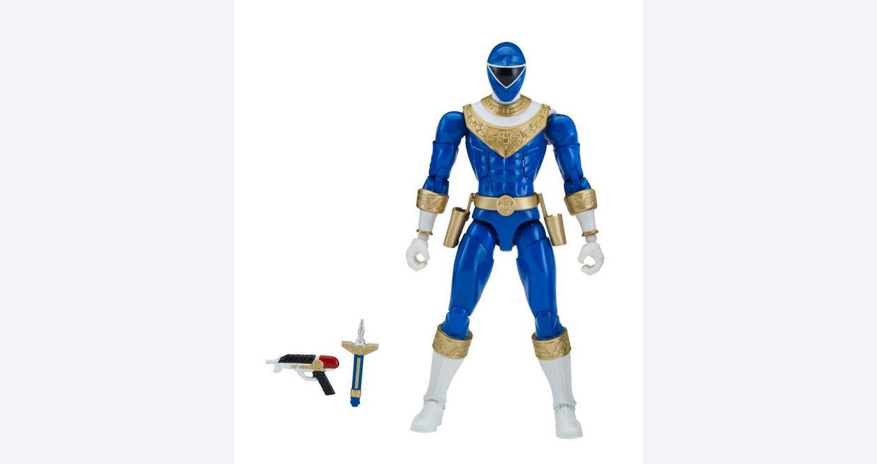 Power Rangers Legacy: Zeo 6.5 Inch Action Figure Blue Ranger