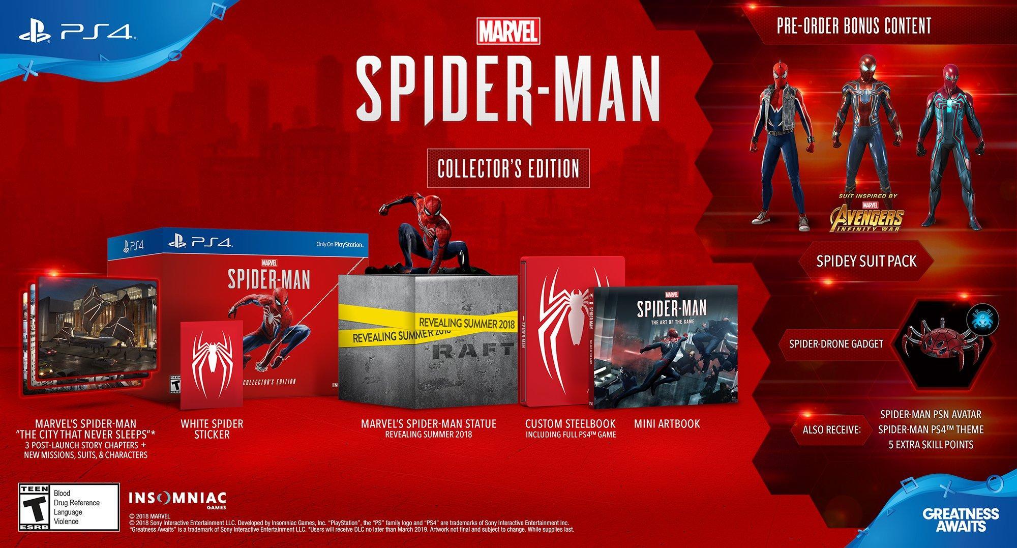 Marvel's Spider-Man Collector's Edition | PlayStation 4 | GameStop