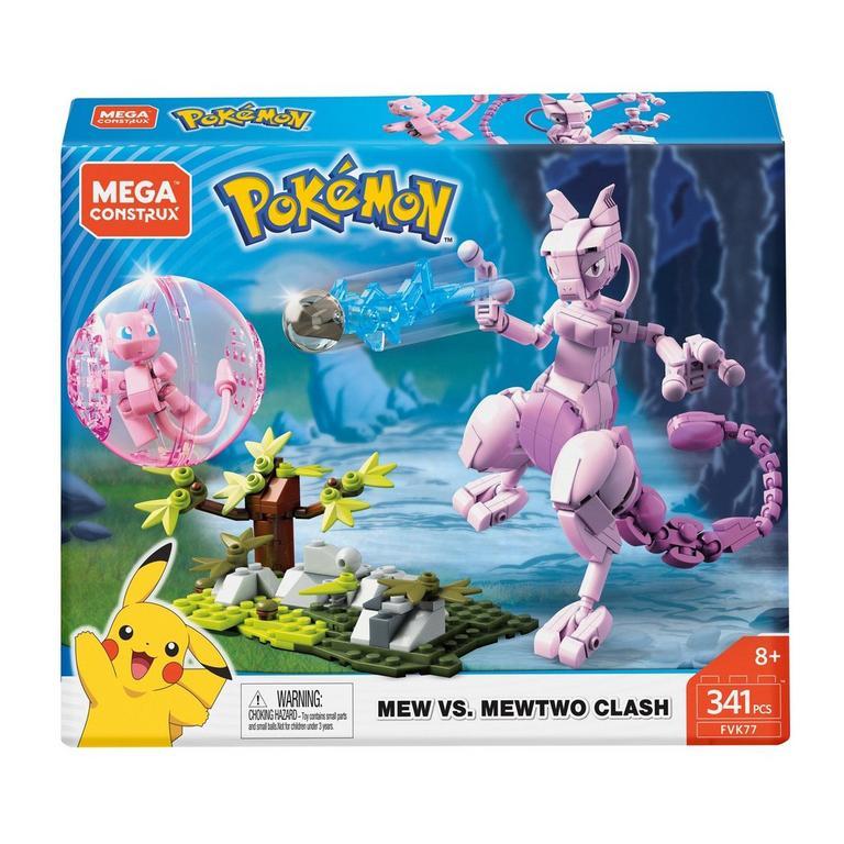 Pokemon Mew vs. Mewtwo Clash Mega Construx