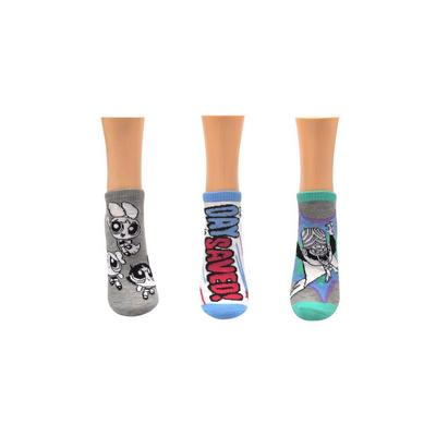 The Powerpuff Girls The Day is Saved Socks 3 Pack