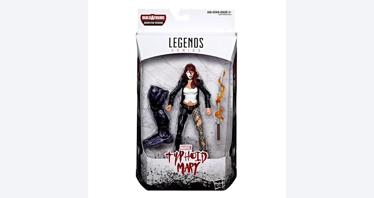 Marvel Legends Series Venom Typhoid Mary Action Figure