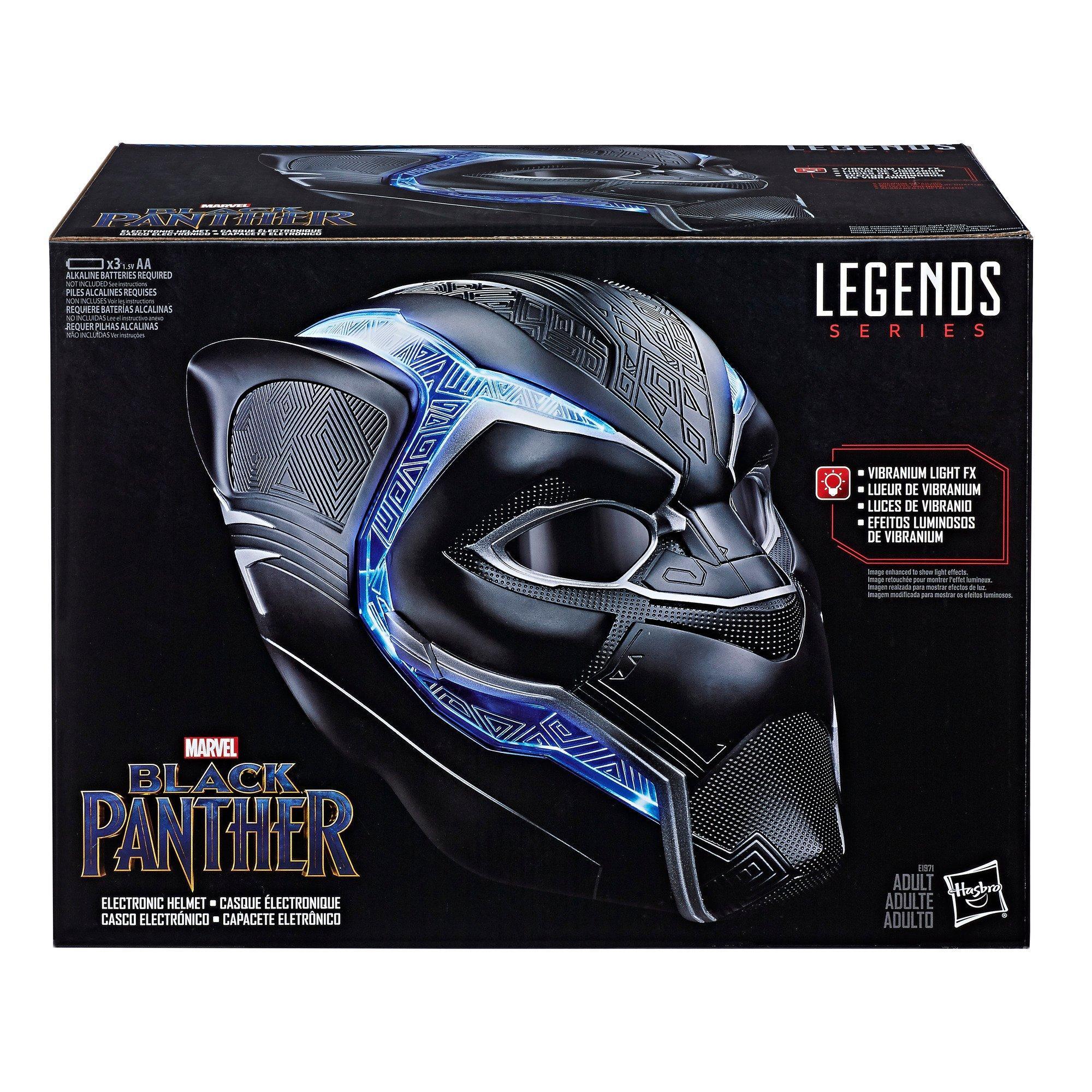 Marvel Legends Black Panther Electronic Helmet NEW