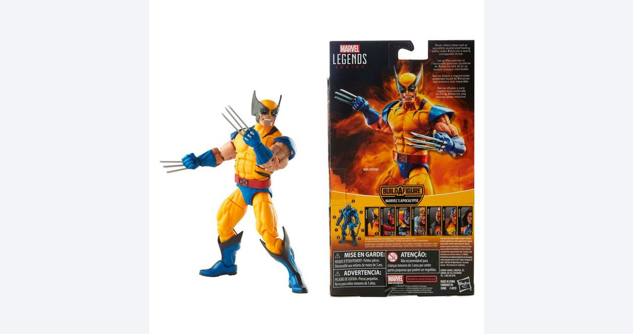 Marvel: X-Men Legends - Wolverine Action Figure