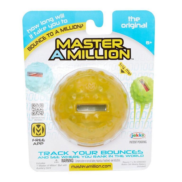 Master A Million Bounce Ball - Yellow