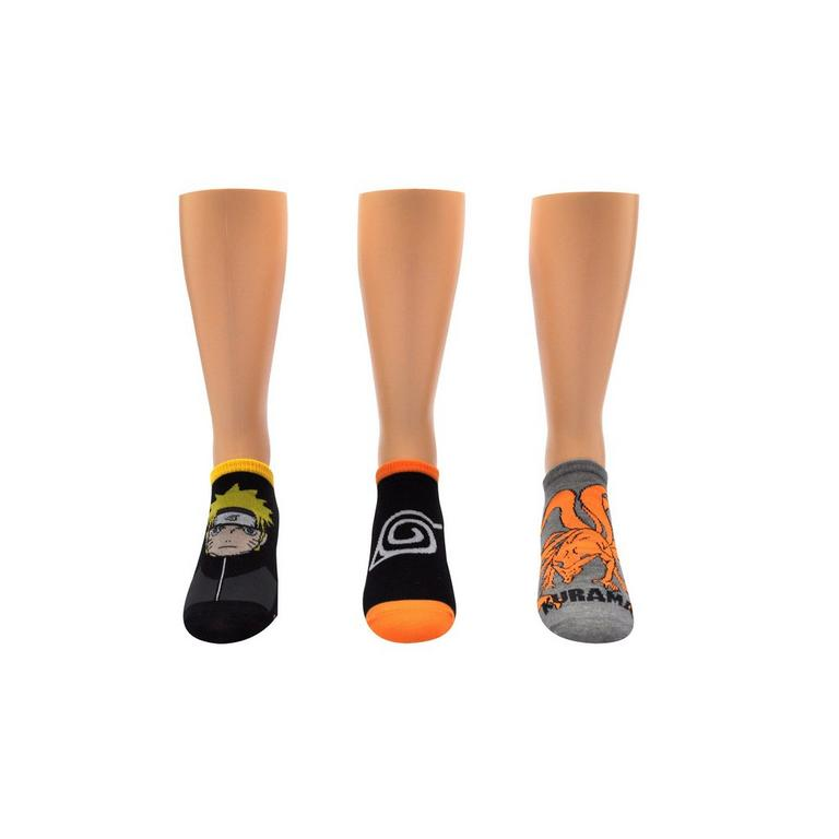 Naruto Socks 3 Pack