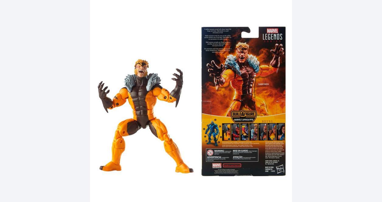 Marvel: X-Men Legends- Sabretooth Action Figure