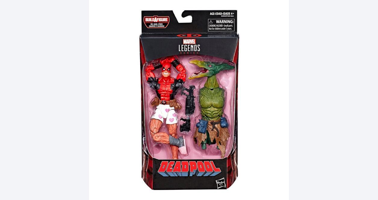 Marvel Legends Series Deadpool - Deadpool in Boxers Wave 2 Action Figure