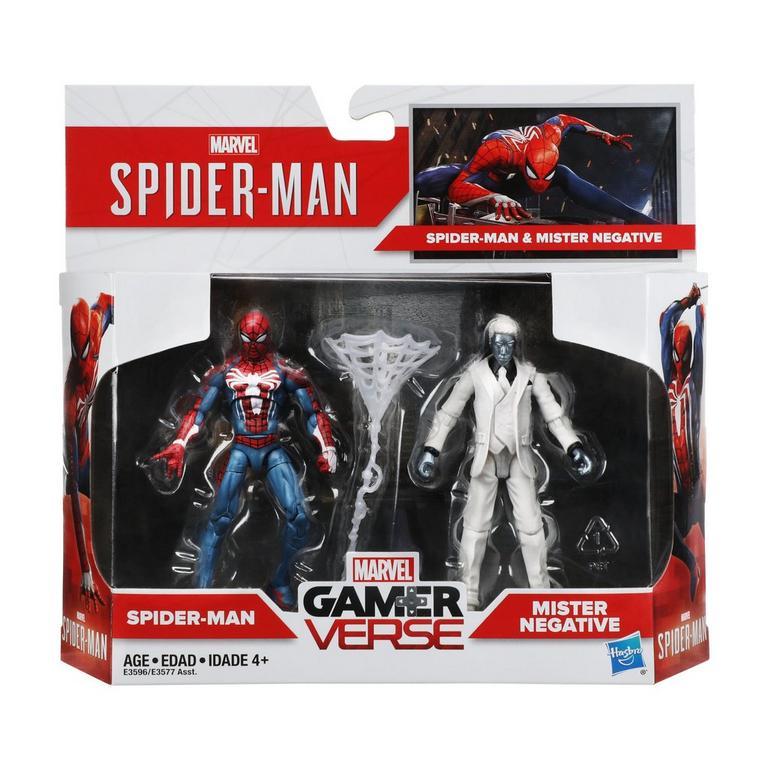 Marvel's Spider-Man Gamerverse Spider-Man vs. Mister Negative 2-pack - Only at GameStop