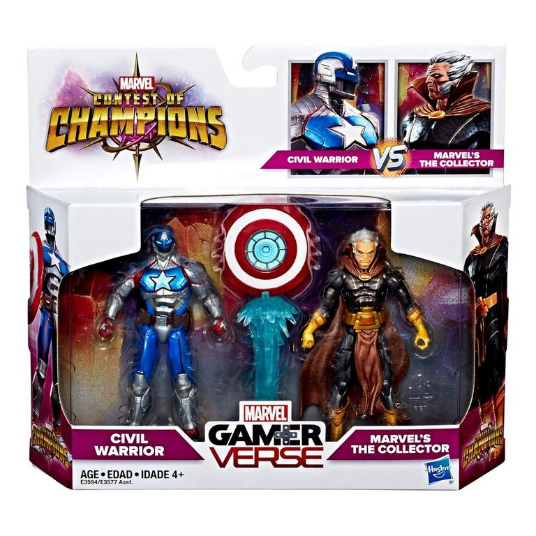 Marvel Gamerverse Marvel: Contest of Champions Marvel's The Collector vs. Civil Warrior 2-pack
