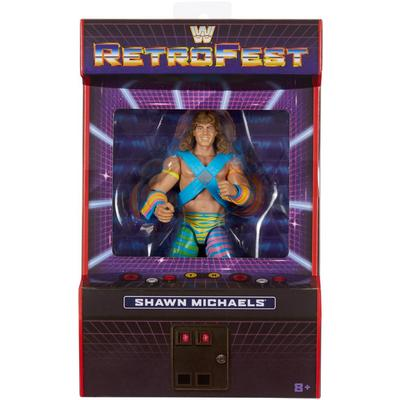 WWE Shawn Michaels Elite Collection RetroFest Action Figure Only at GameStop