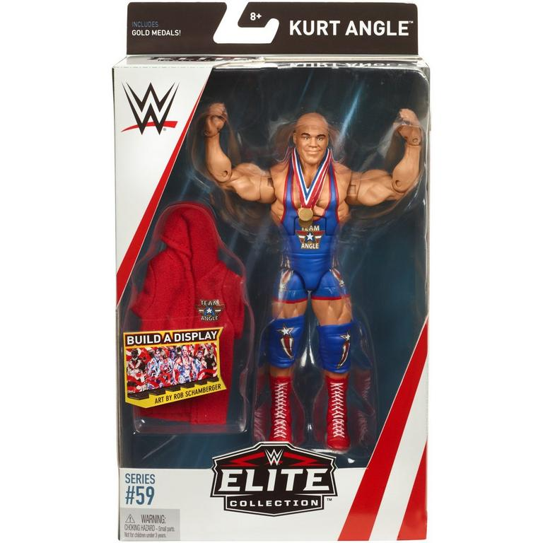 WWE Kurt Angle Elite Collection Series 59 Action Figure