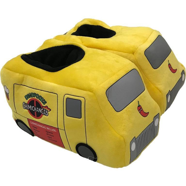 Deadpool Taco Truck Slippers